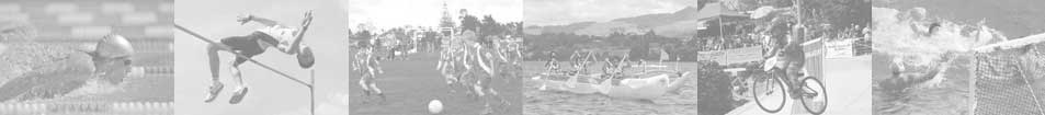 Swimming High Jump Football Waka Ama BMX Water Polo